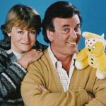 PICTURE OF TERRY AND SUE WITH PUDSEY BEAR